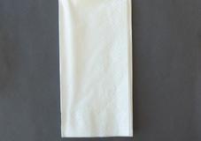 Linen look premium dinner napkin