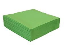 Mountain pine green 2 ply and 3 ply napkins