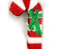 Christmas Candy Cane Pinata