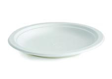 Cornstarch enviromentally friendly 180mm and 230mm round plates