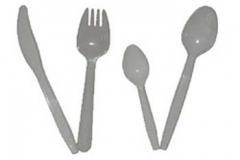 Par13 Plastic Cutlery x100