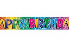 PWB17 Banner Happy Birthday