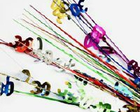 30th multi coloured spray