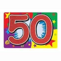 50th Birthday Great Lakes Packaging Amp Party Supplies