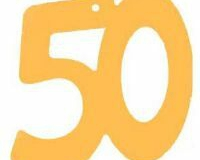 50th gold cutout small and large