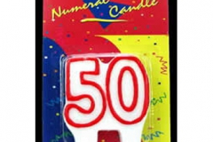 50th red candle