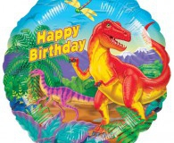 Dinosaur 45cm foil balloon