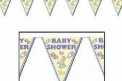 Baby shower penant banner