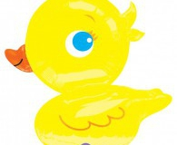 Duck shape foil balloon