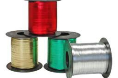 Assorted colours 5 mm x 480 mtrs metallic curling ribbon