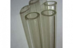 Clear acrylic tube for topiary tree 600mm