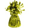 Balloon weight lime green