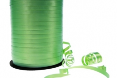 Green 5mm curling ribbon
