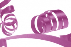Hot Pink 31mm poly ribbon
