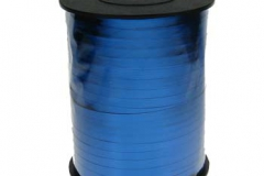 Metallic blue 5mm curling ribbon