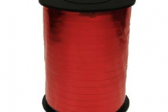 Metallic red 5mm curling ribbon