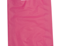 Plastic HDPE Bag 380mm (H) x 255mm (W) Packed in units of 1000 per carton in the Carnival Colour Paradise Pink