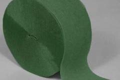 Streamer paper green pkt 4