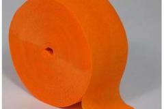 Streamer paper orange pkt 4
