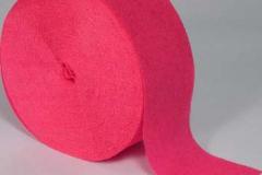 streamer paper hot pink pkt 4