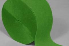 streamer paper lime green pkt 4