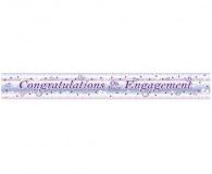 Foil engagement banner 3.65 mtrs