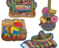 Mexican cutouts set 4
