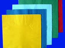Assorted colours 2 ply and 3 ply lunch and dinner napkins