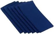 Dark blue lunch and dinner napkinsjpg