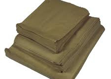 Brown paper bags assorted sizes