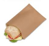 White and brown paper sandwich bags available in assorted sizes