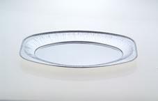 Foil oval platter