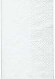 GT 8 fold white dinner napkin