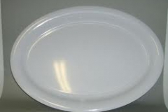 Large oval platters assorted colours