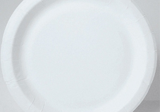 Paper white plate 165mm  and 180mm and 230mm